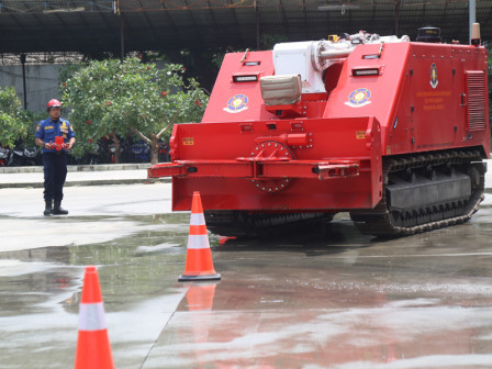 Gulkarmat Has Firefighting Robot with Advanced Features