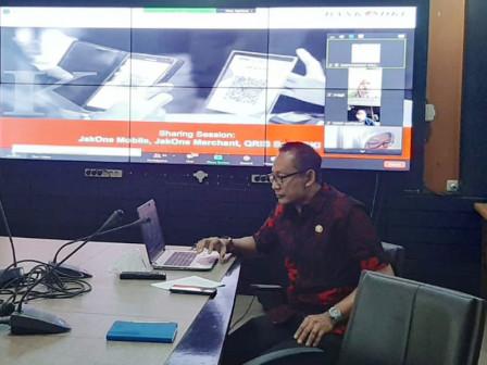 Disparekraf - Bank DKI Sosialisasikan QRIS dan Permodalan UMKM