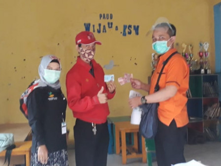 914 Households in Kebon Kelapa Have Received Cash Assistance