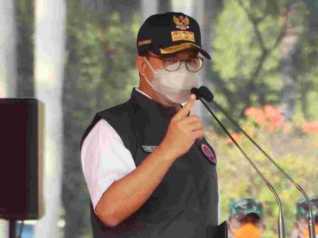 Gubernur Anies Harapkan Kolaborasi Jadi Kunci Dalam Upaya Antisipasi Musim Hujan di Jakarta