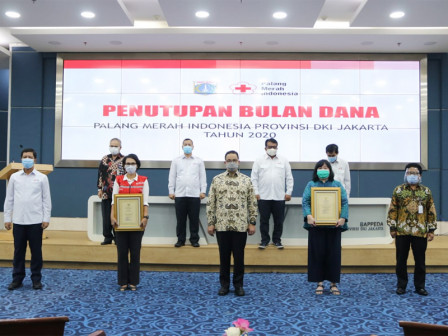 Bulan Dana PMI 2020 Exceeds the Target, Anies Conveys People's Solidarity Increases During Pandemic