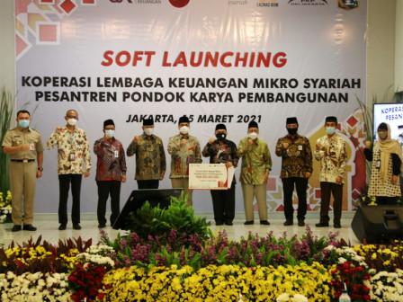 Pemprov DKI Dukung Peluncuran Bank Wakaf Mikro PKP, Wagub Ariza Berharap UMKM Berkemban