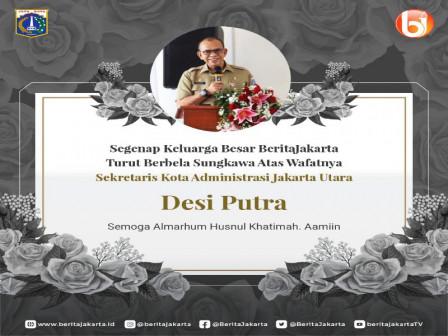 Sekretaris Kota Administrasi Jakarta Utara Tutup Usia