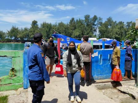 204 Wisatawan Jalani Rapid Antigen Sesampainya di Dermaga Pulau Tidung