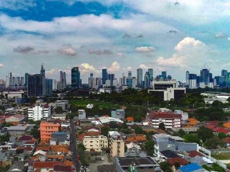 BMKG Prediksi Wilayah di Jakarta  Cerah Berawan