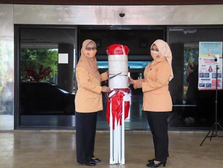 DWP Jakarta Utara Salurkan Bantuan Tenda Darurat Untuk Enam Kecamatan