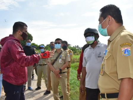 Next Week,  Jakarta Garden City Side C Reservoir will Be Dredged