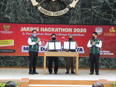 Jakarta Supports Jakbee Hackathon 2020, for Students to Work and Get Education Scholarships