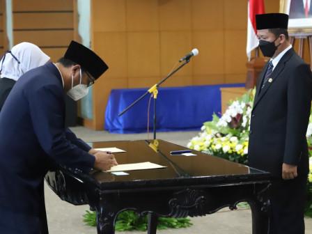Wali Kota Jakut Lantik 40 Pejabat di Lingkungan Pemkot Jakarta Utara