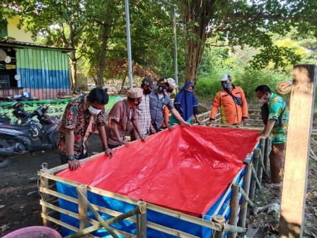 Sudin LH Lakukan Pembinaan Kampung Iklim di Pulau Kelapa