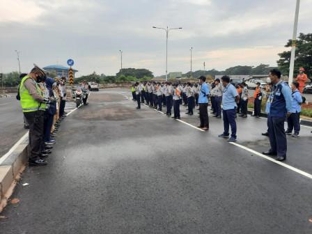 One-way Traffic on Pulogebang Begins
