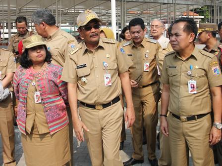 October 5, Kota Tua PKL Shelter Inaugurated