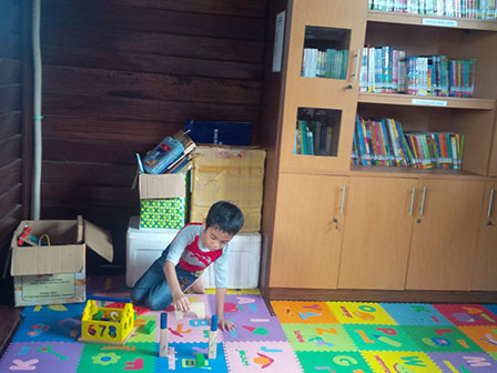 Pulau Pari Memiliki Taman Baca Bagi Anak-Anak