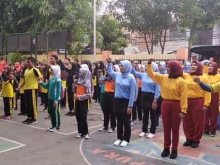 10 Tim Senam Meriahkan Lomba SKJ Kelurahan Sukapura