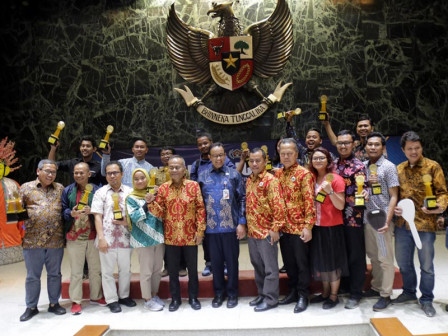 Anies Appreciates Journalists Works in Anugerah Jurnalistik MH Thamrin 2019
