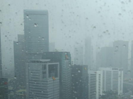 Jakarta Diprediksi Hujan Hari Ini