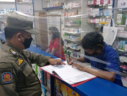 Satpol PP Intensifies Health Protocols Monitoring in Offices