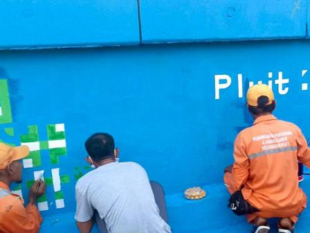 Mural Jakarta Kota Kolaborasi Percantik Wilayah Pluit