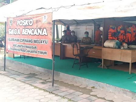 Kelurahan Cipinang Melayu Aktifkan Posko Siaga Bencana