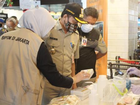 Pemkot Jaksel Gelar Pengawasan Keamanan Pangan Terpadu di Sejumlah Pasar Swalayan