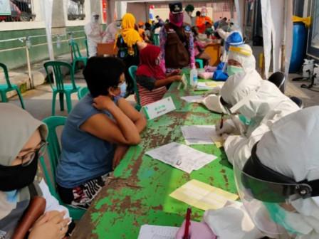 165 People in Wijaya Kusuma Undergo Rapid Tests