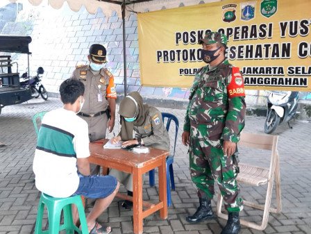 63 PSBB Violators in Tebet and Pesanggrahan Netted
