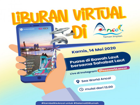 Let's Take a Virtual Vacation to Ancol Part 2 at 1 PM Today