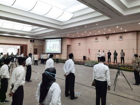 Pemkot Jakbar Kukuhkan 461 Anggota FKDM Periode 2021-2023