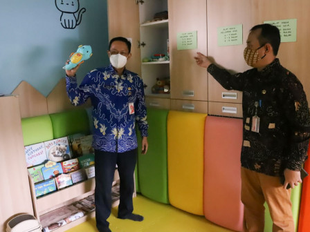 South Jakarta Ensures RPTRA Bahari Readiness for Library Competition