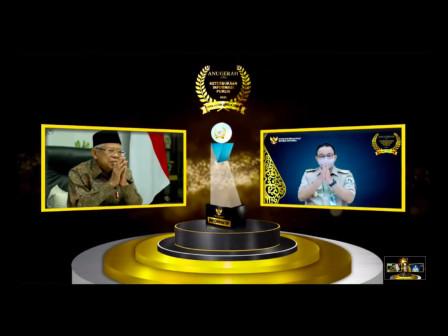 Pemprov DKI Raih Penghargaan Keterbukaan Informasi Publik Empat Tahun Berturut-turut