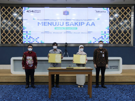Town Hall Meeting SAKIP, Wagub Ariza Tekankan Kerja Sama Dalam Penguatan Akuntabilitas Kinerja