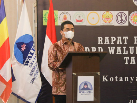 Hadiri Rakerda DPD WALUBI DKI Jakarta, Wagub Ariza Berharap WALUBI Berkontribusi Dalam Pembangunan I