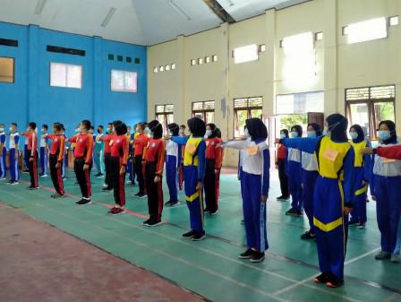62 Siswa-Siswi Kepulauan Seribu Mengikuti Seleksi Paskibraka Tingkat Kabupaten Tahun 2021