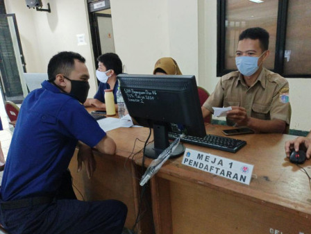 COVID Vaccination for ASN in Kelapa Gading Centered at Judo Sports Hall