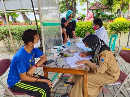 1.470 Warga Sasaran di Pulau Untung Jawa Sudah Divaksin COVID-19