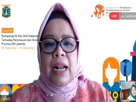 Kampanye Anti Kekerasan Terhadap Perempuan dan Anak di Jakarta Resmi Dimulai