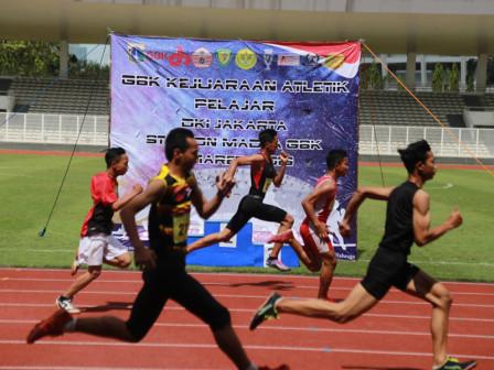 420 Atlet Ikuti Perlombaan Atletik di GBK