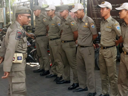 Hundreds of North Jakarta Satpol PP Alerted in 29 Churches