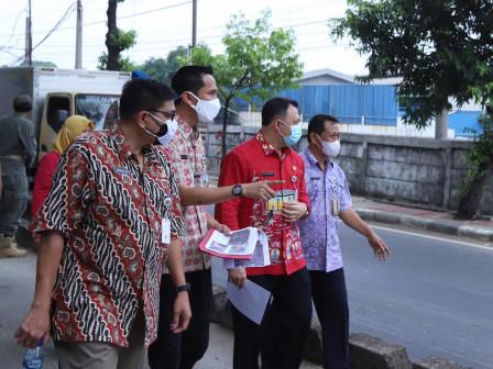 Tim Gabungan Tinjau Lokasi Pembangunan Saluran Phb Jl I Gusti Ngurah Rai