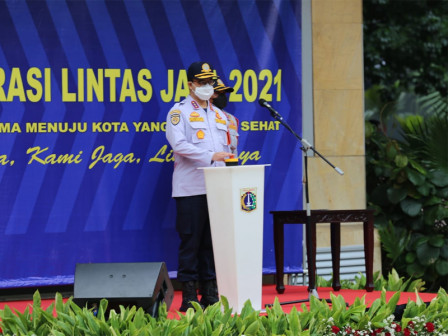 Anies Hopes 2021 Lintas Jaya Operation to Create Culture of Orderly Traffic