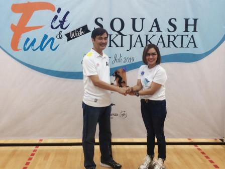 Dispora DKI Dukung Kemajuan Olahraga Squash di Jakarta Melalui Penyediaan Fasilitas