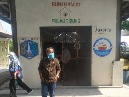Sudin LH Kepulauan Seribu Perkenalkan Program Rumah Maggot