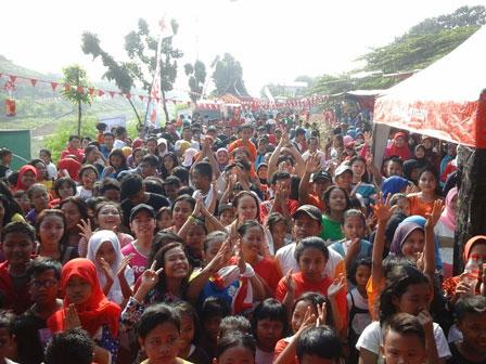 4500 Warga Ramaikan Karnaval KBT
