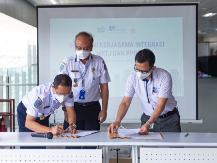 PT. MRT Jakarta Builds Cooperation with Perum PPD