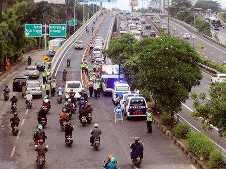 Pancoran Flyover Reduces Traffic Jam for 60 Percent