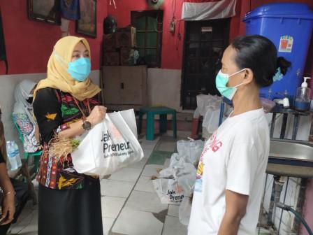 Bakul Jahe KPKP Jakbar Peduli Covid 19, Kumpulkan 88 Paket Jualan Jakpreneur Sudin KPKP Jakarta Bara