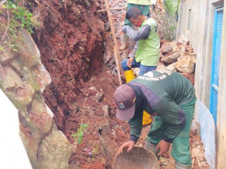 Early April, Collapsed Sheet Piles Repair at Susukan TPU Completed