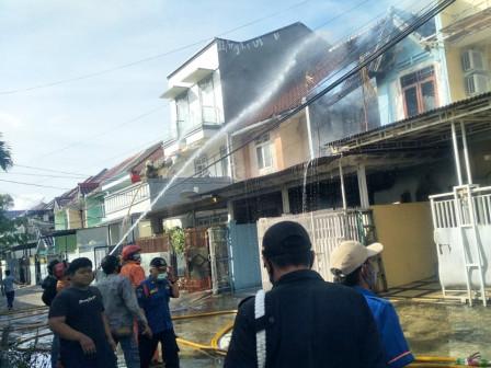 Kebakaran di Cengkareng Barat Berhasil Dipadamkan