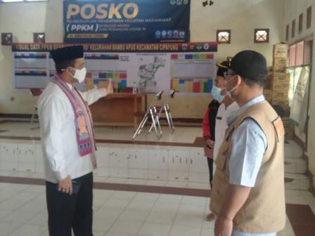 Wali Kota Jaktim Sidak Posko PPKM di Kelurahan