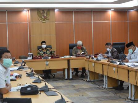 Komisi B Gelar Rapat Evaluasi PSBB Bersama Eksekutif